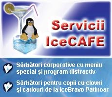Servicii de divertisment la IceCAFE